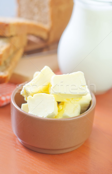 Stock photo: butter