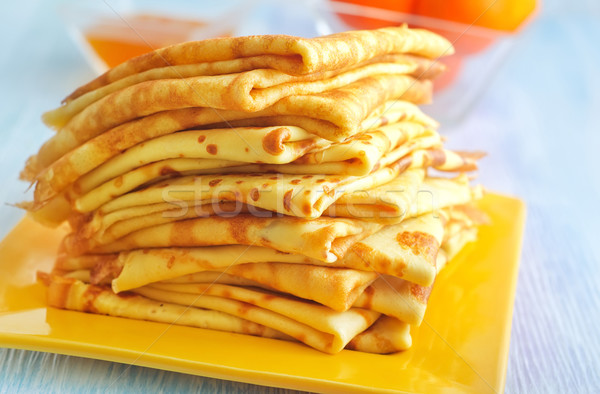 pancakes Stock photo © tycoon