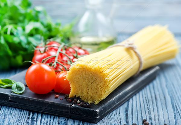pasta and tomato Stock photo © tycoon