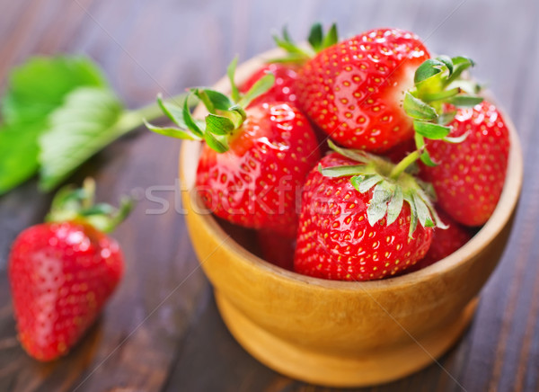 strawberry Stock photo © tycoon