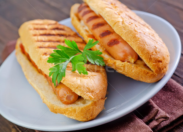 hot dogs Stock photo © tycoon