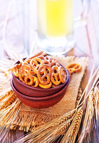 pretzels Stock photo © tycoon
