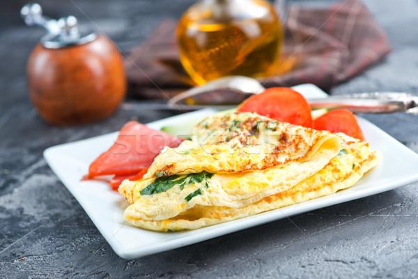 トマト ホワイトボード 卵 キッチン ヒマワリ チーズ ストックフォト © tycoon