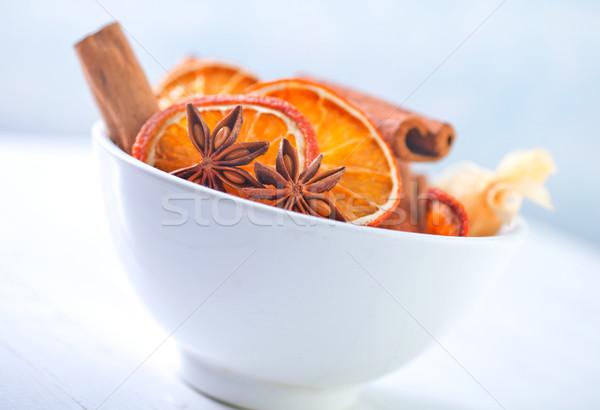 Сток-фото: аромат · Spice · кухне · звездой · чай · темно