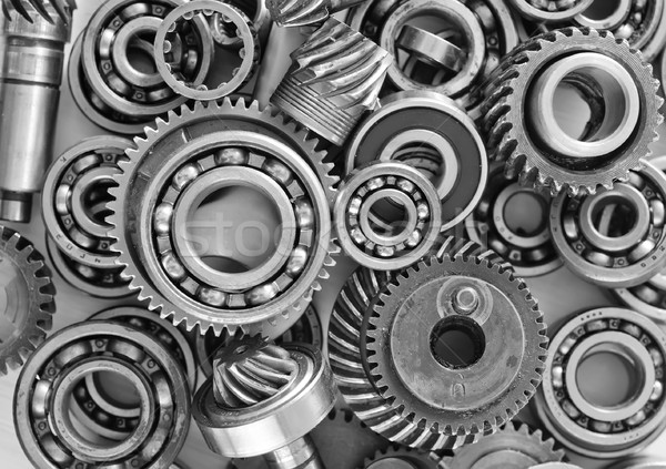 metal gears and bearings Stock photo © tycoon