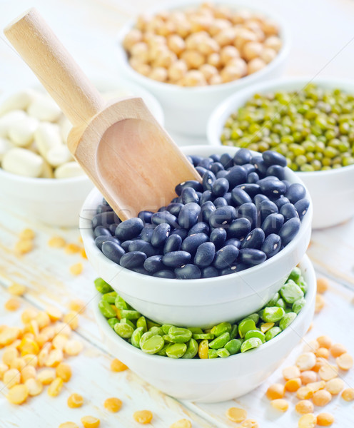 different beans Stock photo © tycoon