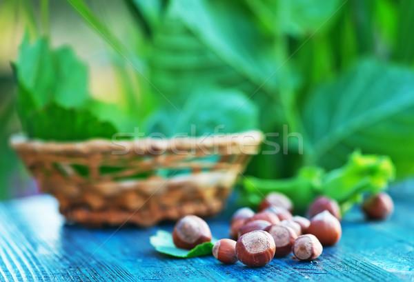 hazelnuts Stock photo © tycoon