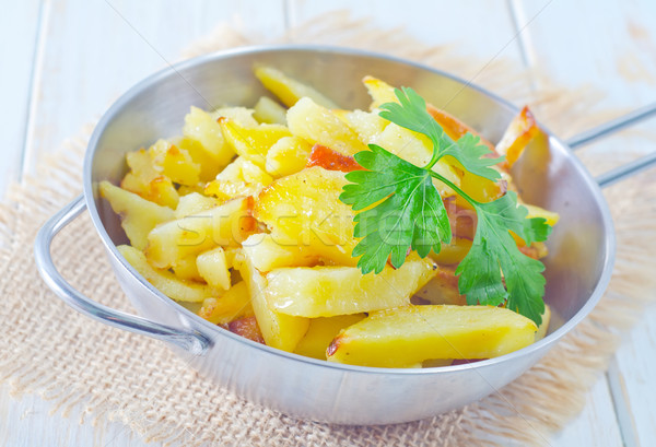Frito papa frutas grasa comer país Foto stock © tycoon