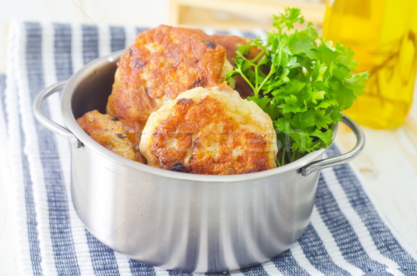 cutlets Stock photo © tycoon