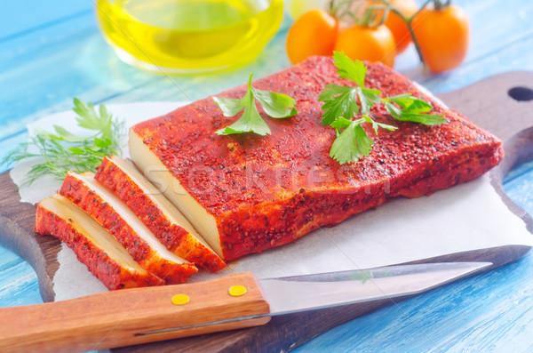 パプリカ その他 スパイス 食品 背景 肉 ストックフォト © tycoon