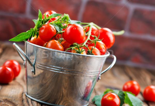 tomato cherry Stock photo © tycoon