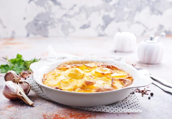 gratin from potato Stock photo © tycoon