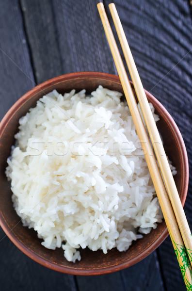 米 食品 餐廳 雞 晚餐 商業照片 © tycoon