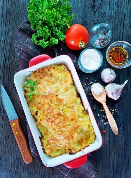 potato gratin  Stock photo © tycoon