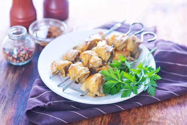 kebab from mollusk Stock photo © tycoon