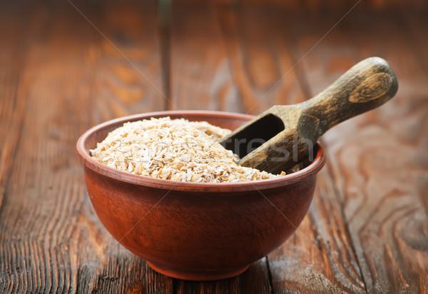 oat bran Stock photo © tycoon