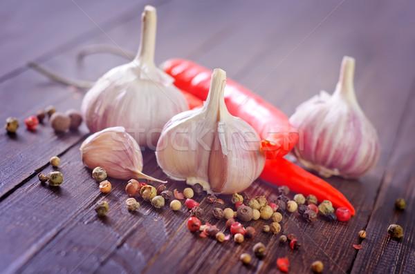 Aroma Spice alimentare legno spazio vita Foto d'archivio © tycoon