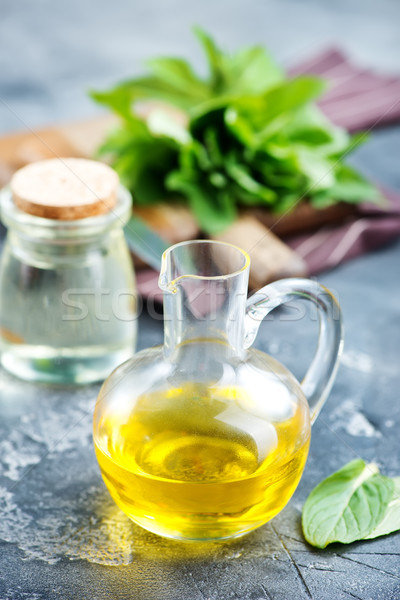 mint oil Stock photo © tycoon