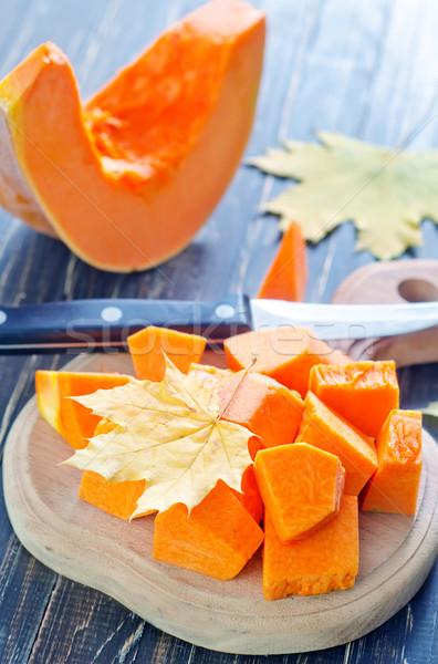 Zucca alimentare arancione caduta agricoltura vegetali Foto d'archivio © tycoon