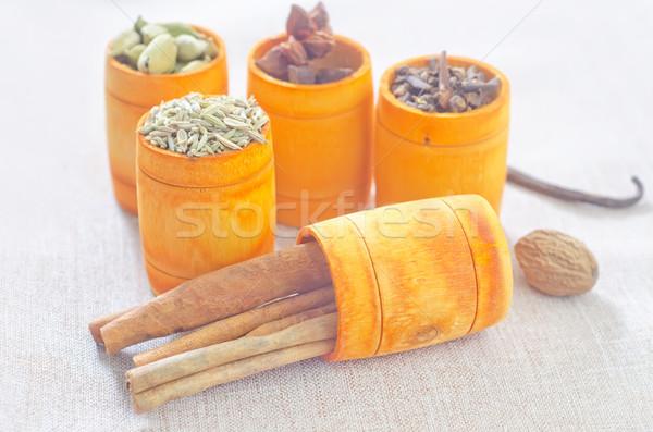 Сток-фото: аромат · Spice · древесины · перец · Кука · фоны