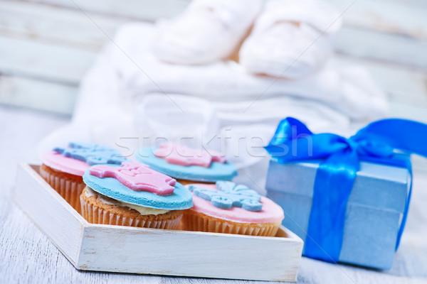 Lakoma becsület születés gyermek baba ruházat Stock fotó © tycoon