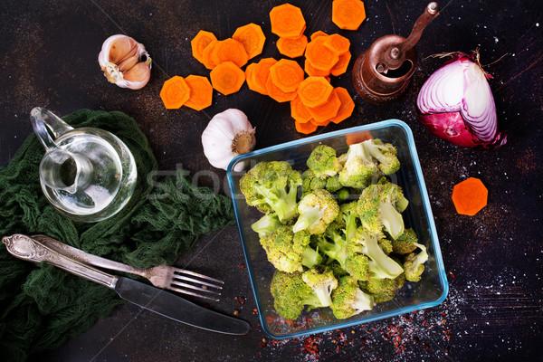 野菜 生 ブロッコリー ニンジン 表 自然 ストックフォト © tycoon