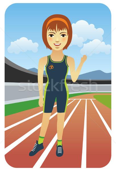 Runner Stock photo © UltraPop