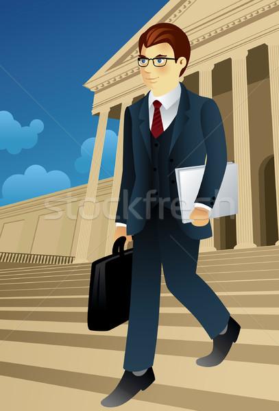 Businessman Stock photo © UltraPop