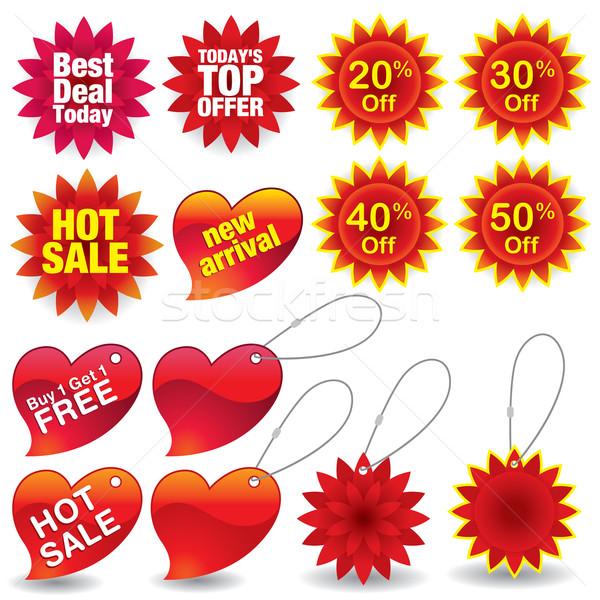 Verkoop winkel marketing gratis klant Stockfoto © UltraPop