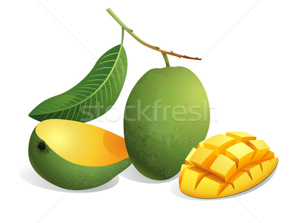 Mango Fruit Stock photo © UltraPop