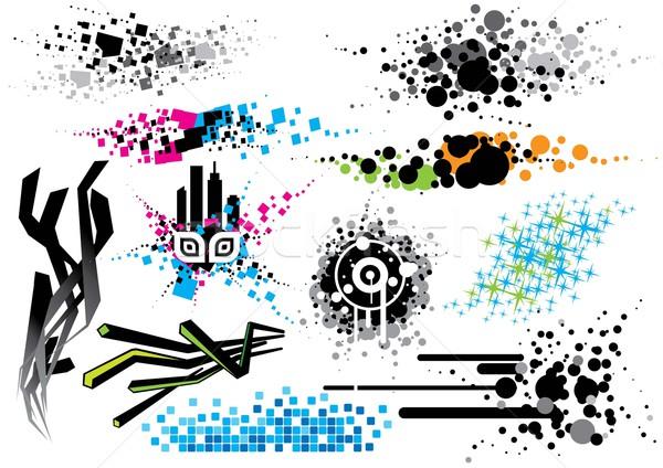 дизайна Элементы набор изображение Сток-фото © UltraPop
