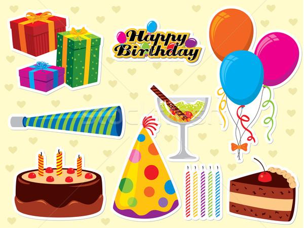 Birthday Collection Stock photo © UltraPop