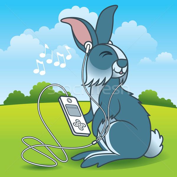 Rabbit Music Stock photo © UltraPop