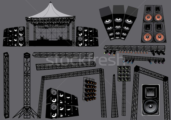Concert Stage Stock photo © UltraPop