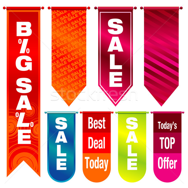 Sale Banners Stock photo © UltraPop