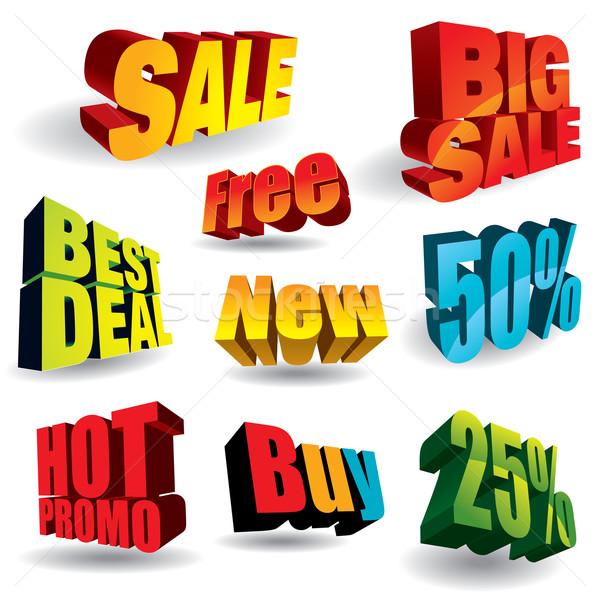 Vásárlás kirakat 3D látogatás enyém portfólió Stock fotó © UltraPop