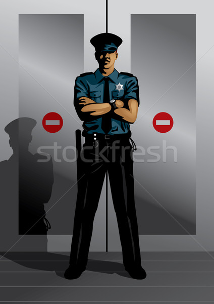Security Guard Stock photo © UltraPop