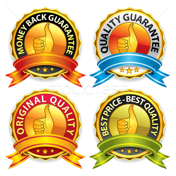 Guarantee Badges, Label Stock photo © UltraPop