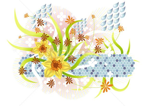Primavera abstrato sazonal ilustração Foto stock © UltraPop