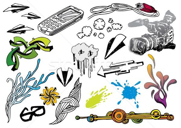 Graphic Elements Stock photo © UltraPop