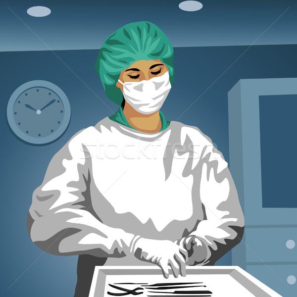 Surgeon, Doctor Stock photo © UltraPop