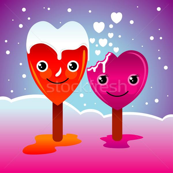 Heart Characters Stock photo © UltraPop