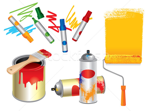 Paint Tools Stock photo © UltraPop