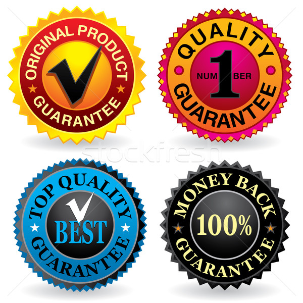 Quality Labels Stock photo © UltraPop