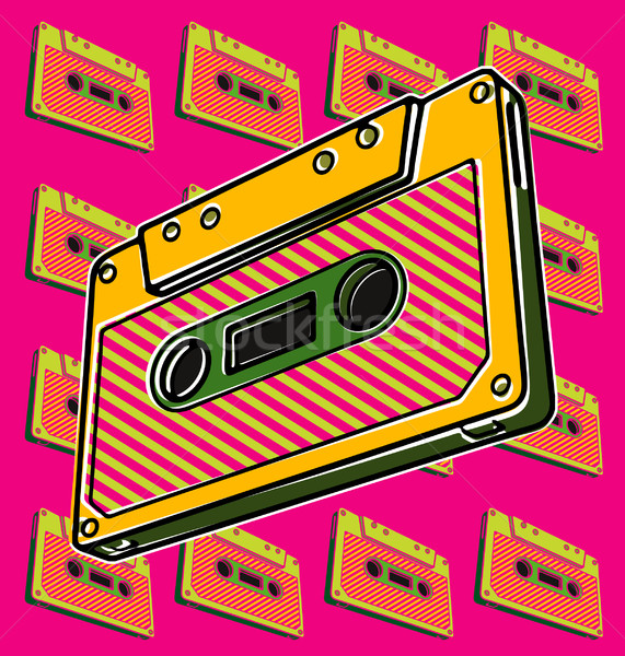 Cassette, Tape Stock photo © UltraPop