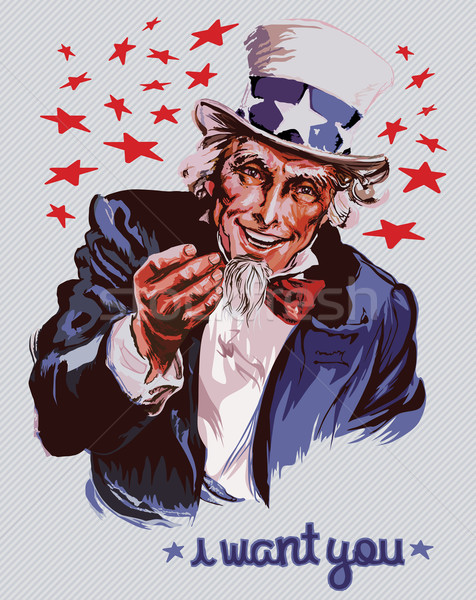 Uncle Sam Stock photo © UltraPop