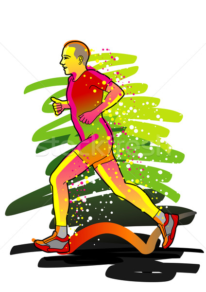 Jogger, Runner Stock photo © UltraPop