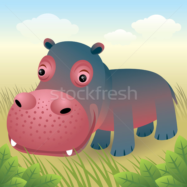 Hippo Stock photo © UltraPop