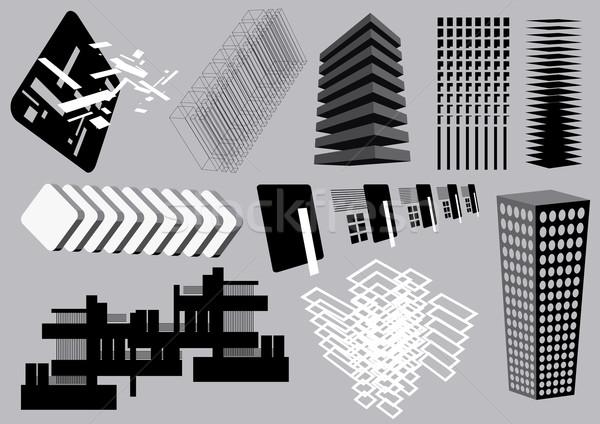 Mimari elemanları görüntü benim ses toplama Stok fotoğraf © UltraPop