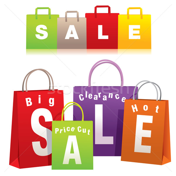 Shopping Bags Stock photo © UltraPop